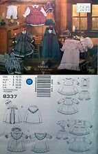 "Vtg Vogue 8337 Sew Pattern Linda Carr Doll Clothes 18"" Cape Hat Dress Nightgown"