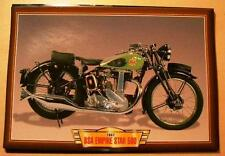 BSA EMPIRE STAR 500 SINGLE VINTAGE CLASSIC MOTORCYCLE BIKE 1930'S PICTURE 1937