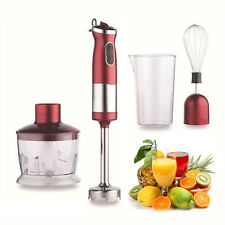 750W KINGAVON 4IN1 ELECTRIC HAND BLENDER MIXER STIRRING JUICE EXTRACTING CHOPPER