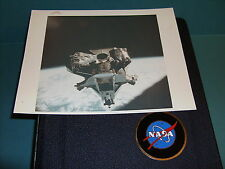 "NASA APOLLO 9 LUNAR MODULE ""SPIDER"" VINTAGE PHOTO RED SERIAL #"