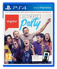 SingStar Ultimate Party (Sony PlayStation 4, 2014) Usado Excelente Estado