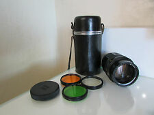 SOVIET RUSSIAN TAIR-11A 135mm f2.8 M42 s/n 868327 Lens FULL SET ! PERFECT !