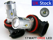 H11 Xenon WHITE 17W 5 HIGH POWER CREE LED Car Fog Bulbs A
