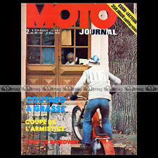 MOTO JOURNAL N°142 TRIAL CHARLES COUTARD JAWA 350 CALIFORNIAN SUZUKI 250 RL 1973