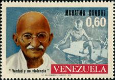 Venezuela Gandhi Mint Stamp