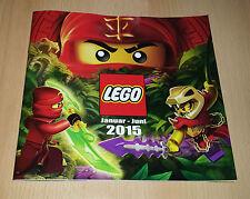 Lego Katalog Januar - Juni 2015 NEU STAR WARS NINJAGO Werbe Prospekt Heft