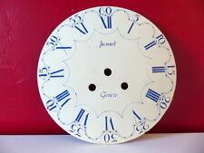Cadran bombé 23,5 cm émaillé horloge comtoise pendule oeil de boeuf Jacmard