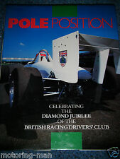 Pole Position BRDC Silverstone era Frank Williams John Cobb TWR empuje 2 Firmado