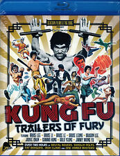 Kung Fu Trailers Of Fury Blu Ray Severin Bruce Lee Li Le Leong Dragon Grindhouse