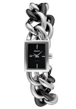 Donna Karan  Women's Black Dial Black Ceramic & Stainless Steel NY8391
