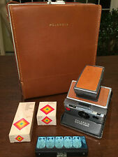 Vintage 1970s POLAROID SX-70 Alpha-1 Instant SLR Land Camera, Case & Accessories