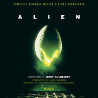 Alien - 2 x CD Complete & Rejected - Limited Edition - Jerry Goldsmith