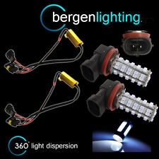 2X H9 WHITE 60 LED FRONT MAIN HIGH BEAM LIGHT BULBS HIGH POWER XENON MB500501