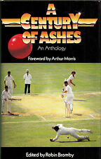Century of Ashes An Anthology edited Robin Bromley Signed by David Hookes HCDJ