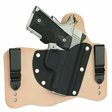 FoxX Leather & Kydex IWB Holster Springfield 1911 Ultra Compact Natural Right