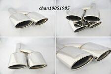 Exhaust Muffler Tip Pipe For C65/63 AMG Logo W221 W212 W204 W219