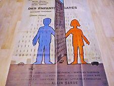savignac  DES ENFANTS GATES ! affiche cinema   ;d
