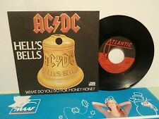"""ac/dc""""hell's bells""""single7"""".Fr.or.1980.at:11650.we171."""