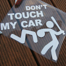 Car Pickup ExteriorRear Windshield  Decorative Funny DON'T TOUCH MY CAR Sticker