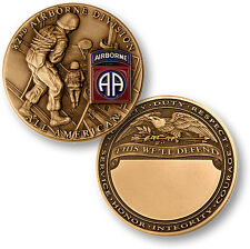 "U.S. Army / 82nd Airborne Division ""This We'll Defend"" - Challenge Coin"