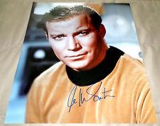 WILLIAM SHATNER Signed Autographed Star Trek Captain Kirk 16x20 photo
