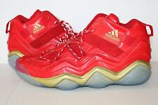 Adidas x Marvel Top Ten 2000 Iron Man Avengers Red/Gold SZ 15