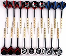 18 pcs(6 sets) of Steel Tip Dart Darts With Nice Flight Flights