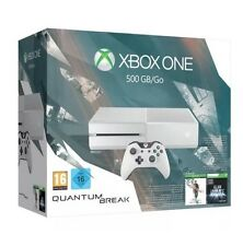 Console XBOX ONE BIANCO 500gb con QUANTUM Break & WIRELESS CONTROLLER NUOVO DI ZECCA
