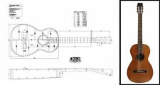 Acoustic 'Parlor' Guitar Plan