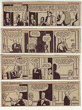 Little Orphan Annie by Harold Gray - 26 daily comic strips from March 1948