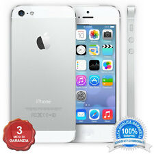 APPLE IPHONE 5 16GB  BIANCO originale CON GARANZIA 3 MESI grado B