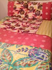 NWT $398 Anthropologie Orlina Floral Queen Duvet & Standard Shams