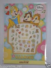 Disney Clarice Chip and Dale Nail Sticker Made in Japan