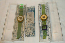 LOT OF 2 SWATCH SCUBA 200 WATCHES SWISS MADE