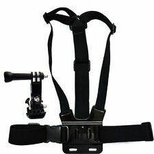 mount adapter camera tripod+elastic body shoulder chest strap for GoPro Hero BT
