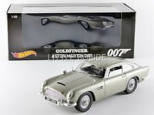 HOTWHEELS (MATTEL) 1/18 ASTON MARTIN DB5 - James Bond Goldfinger - 1958 CMC95