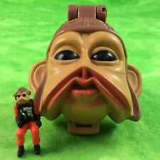 Star Wars Micro Machines Nien Nunb Mini Head Playset Return Of Jedi Pilot Galoob