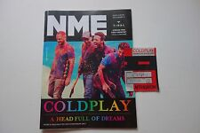 COLDPLAY EUROPEAN TOUR 2004 2005 AFTERSHOW PATCH + NME MAGAZINE