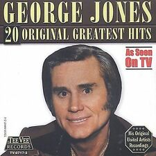 20 Original Greatest Hits by George Jones