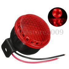 12V 125db Car Motorcycle Truck Brake Stop Reverse Turn Alarm Horn Red LED Light