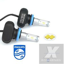 KIT FULL LED CANBUS XENON 8000LM LUMEN HB3 9005 6000K LAMPADE ALL IN ONE PHILIPS