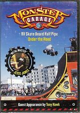 NEW/SEALED MONSTER GARAGE RV SKATE BOARD HALF PIPE UNDER THE HOOD DISCOVERY DVD