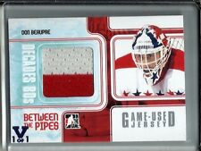 Don Beaupre 10/11 ITG Between The Pipes Game Used Jersey #1/1