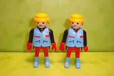 Playmobil : Lot de 2 personnages playmobil / figure tvi