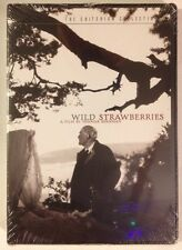 WILD STRAWBERRIES Bergman - Criterion MINT NEW DVD!! Free First Class In U.S.