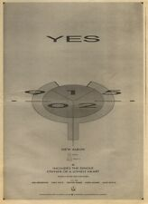 19/11/83PN29 ADVERT: 90125 ALBUM FROM YES PRODUCED BY TREVOR HORN 15X11
