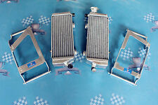 L R Alloy Radiator & Guards For KTM 250 SXF/SX-F 2007-2012 2010 2011