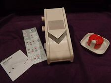 Tupperware Mandoline Mando Chef Slicer new in package