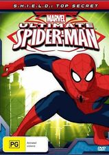 Ultimate Spider-Man - S.H.I.E.L.D. - Top Secret (DVD, Kids) Marvel