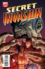 Secret Invasion #1-8 All Skrull Variant Covers Lot/2008 Marvel Comics